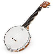 Banjo Ukulele 4 String Banjos lele Ukelele Uke Concert 23 Inch Size Type 4 - $113.87