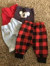 * Mixed lot 4 boy's size 3 month pants - $10.40