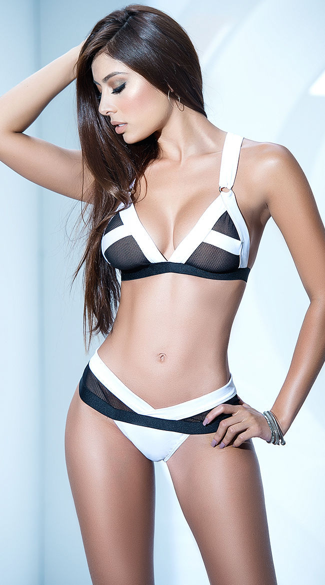 e7940441e Black And White Structured Bra Panty Set and 50 similar items