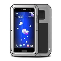HTC U11 Mental Case,Shockproof Water Resistant Dust Proof Love Mei Aluminum Allo - $36.62