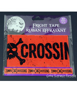 Fright Tape Zombie Crossing 30 ft Halloween Party Decoration Decor - $3.99