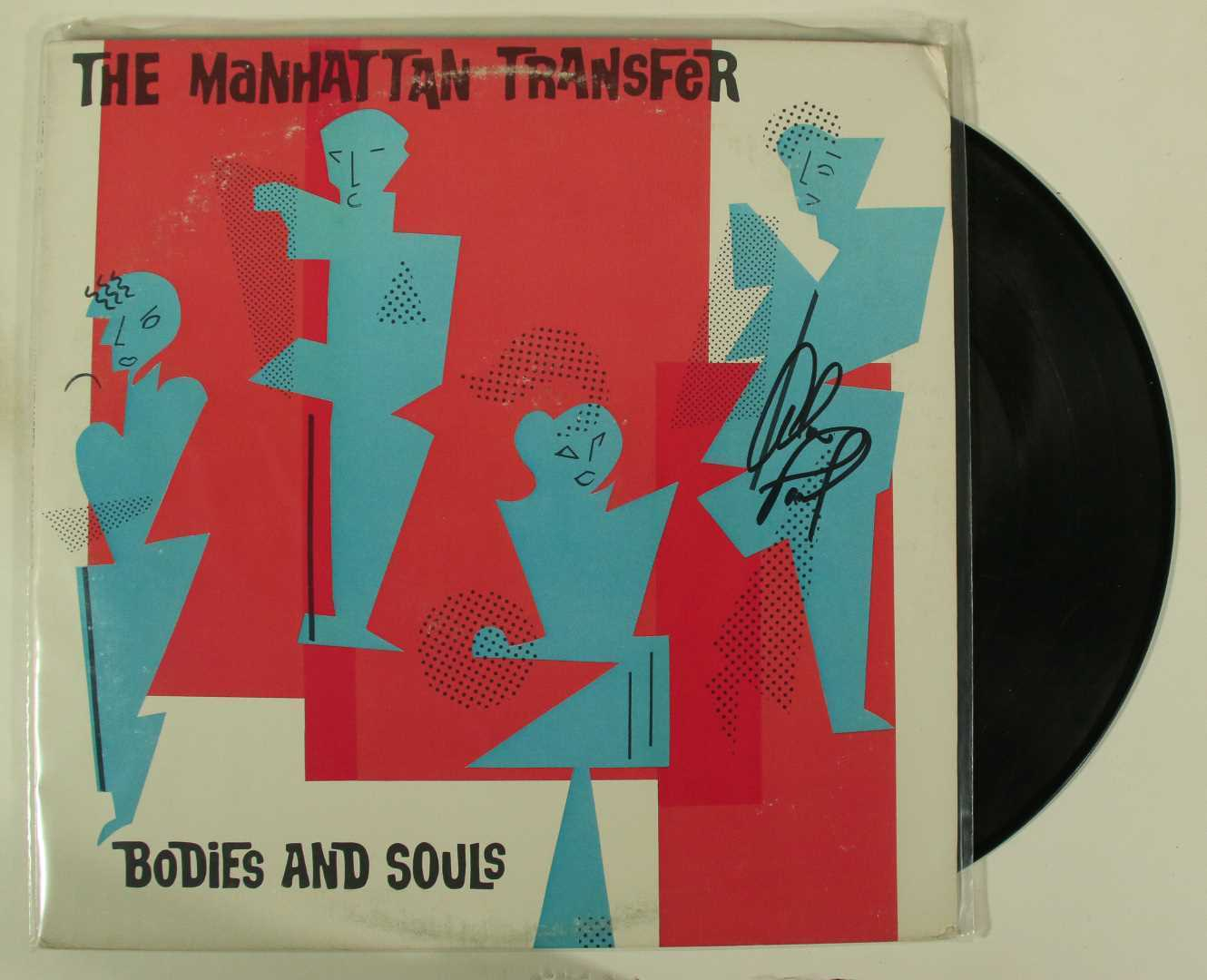 "Primary image for Alan Paul Signed Autographed ""The Manhattan Transfer"" Record Album"
