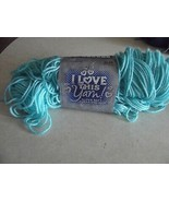 I Love This Yarn Turquoise color 1 available - $1.93