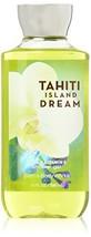Bath & Body Works Signature Shower Gel 10oz Tahiti Island Dream - £9.57 GBP