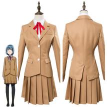 Hinamatsuri Hina Yoshifumi School Uniform Dress Cosplay Costume Suit - $75.00+