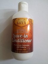 Simply Shea Leave-in Conditioner with Organic Shea Butter Paraben-free 8oz image 2