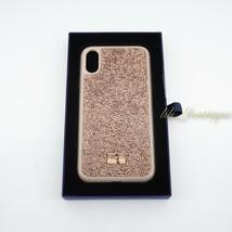 NIB New Swarovski 5506306 Glam Rock Smartphone Case Cover iPhone XR Gold... - $39.95