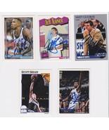 Orlando Magic Signed Autographes Lot of (5) Trading Cards - Skiles, Guok... - $14.99
