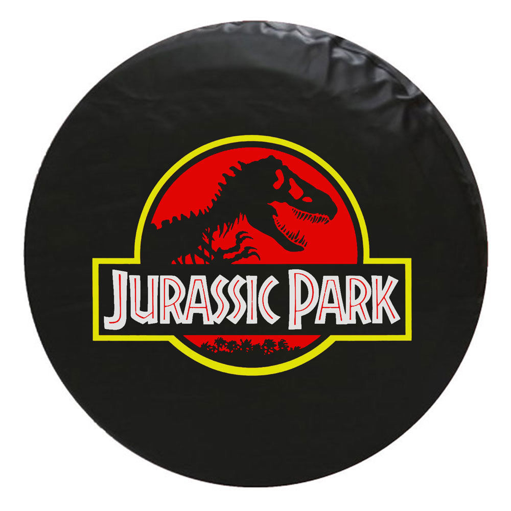 Jurassic Park Tire Cover - STANDARD- We Need Tire Size and Color Choice