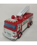 Hess 2005 Emergency Fire Truck with Rescue Vehicle New in Original Box - $21.77