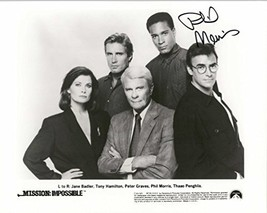 "Phil Morris Signed Autographed ""Mission Impossible"" Glossy 8x10 Photo - COA Matc - $49.49"