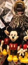 Disney Parks Articulate Mickey Mouse Keychain Keyring New with Tag - $15.51