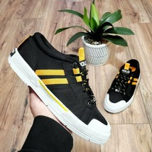 Polo Sport Ralph Lauren Black Sneakers Womens Size 9 Rare Shoes - $69.29