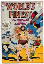WORLD'S FINEST #102 BATMAN SUPERMAN GREEN ARROW 1959 DC FN - $63.05