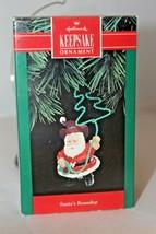 Hallmark 1992 - Santa's Roundup - Cowboy Ornament Western Lasso - $7.95