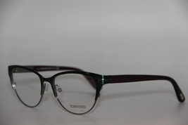 New Tom Ford Tf 5318 089 Green Eyeglasses Authentic Rx TF5318 53-17 W/CASE - $195.70