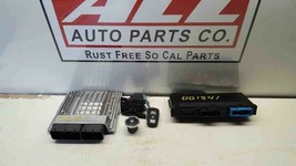 12 BMW 328 F30 3.0L ENGINE BRAIN COMPUTER W/ KEY & IGNITION & BCM 7629052 - $249.99