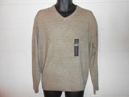 Geoffrey Beene Extra Soft Tan Acrylic Sweater M NWT MSRP $65 - $9.99