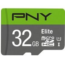 PNY 32GB Elite Class 10 U1 microSDHC Flash Memory Card (P-SDU32GU185GW-GE) - $14.99