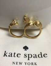 Kate Spade New York House Cat And Mouse Ring Size 8 w/ KS Dust Bag New - $39.99