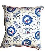 76ers Pillow Philadelphia Pillow NBA Handmade in USA 6 ers - $9.97