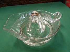 Great Glass JUICE REAMER / JUICER - $8.50