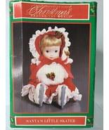 New House of Lloyd Christmas Around the World Santa's Little Skater Musi... - $15.84