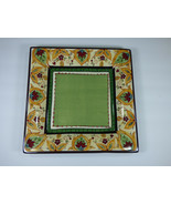 """SET(S) OF 4 - TABLETOPS UNLIMITED ESPANA PAISLEY 10-7/8"""" DINNER PLATES -... - $78.40"""