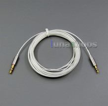 3.5mm to 2.5mm Pure Silver Plated Cable For Sennheiser mm400-x mm450-x ... - $12.80 CAD+