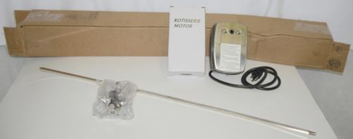 MHP RKMHP Deluxe Universal Rotisserie Kit with Motor Color Silver