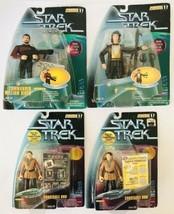 4 Star Trek Action Figures Warp Factor 1 Riker & Q Combat Action Odo (2x) NIP - $47.41