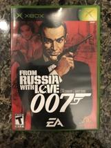From Russia With Love Microsoft Xbox Complete in Box CIB - $9.89