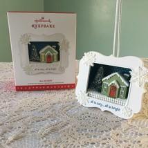 Hallmark Holiday Keepsake Ornament All is cozy all is bright Christmas S... - $9.89