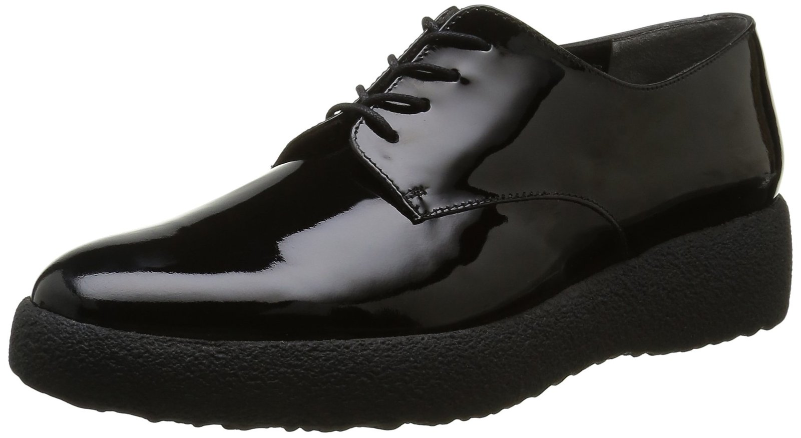 Robert Clergerie Women's Feydol, Black Patent, 38.5 EU/8 B US