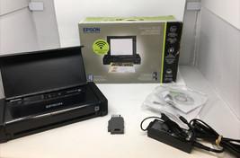 Epson WorkForce WF-100 Wireless Mobile Inkjet Printer Needs INK - $112.19