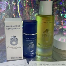 Omorovicza Lot Neck + Rejuvenating Night Cream Firming Body Oil + Blue Diamond image 2