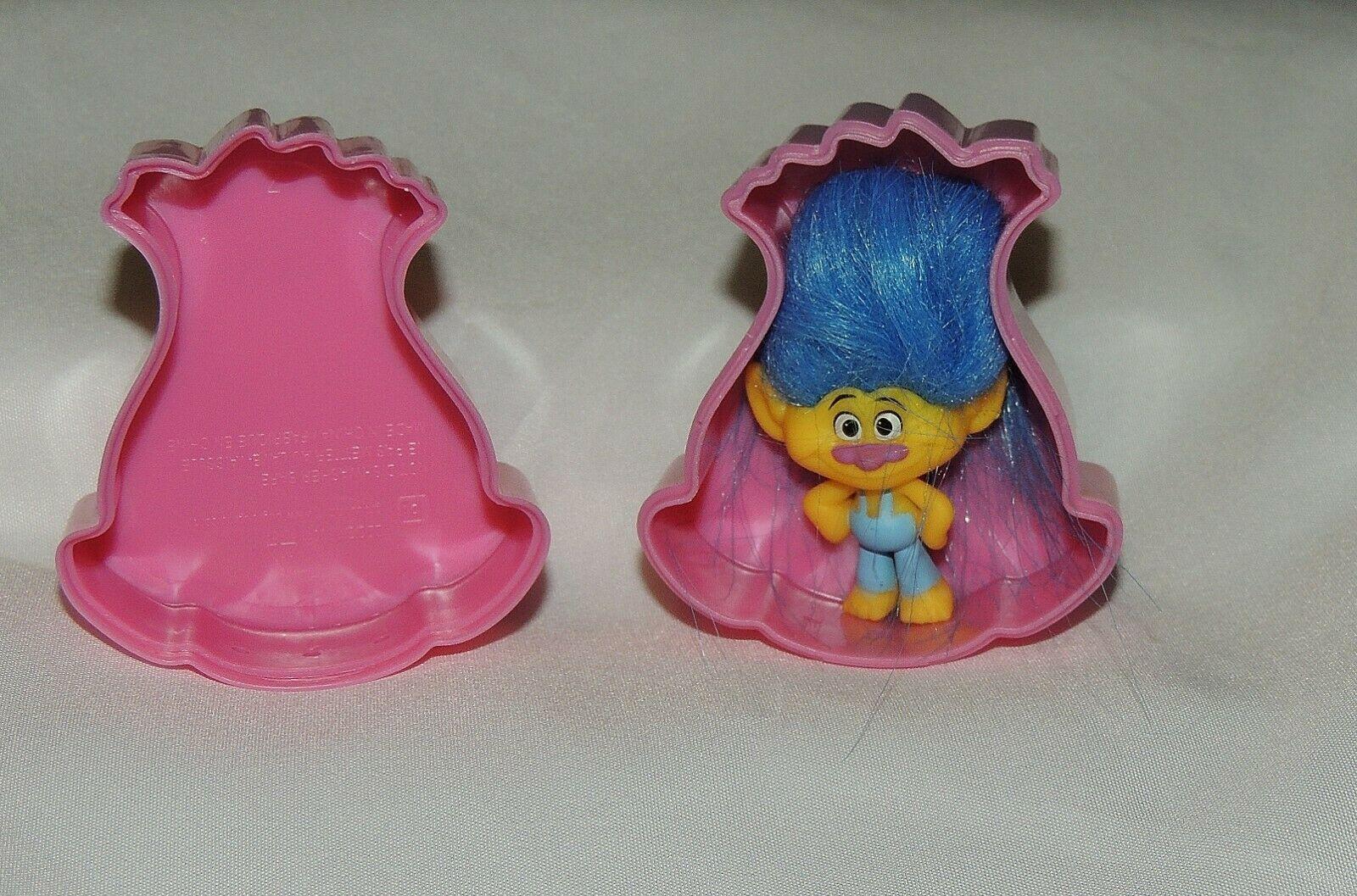 Neuf Trolls Pochette Surprise Figurines You Pick W/Containers Oeuf de Pâques