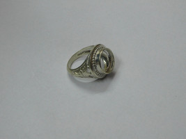 925 sterling Silver mount Ring, Round- 12.0 mm,RI-0338,ring,all size ava... - $18.80