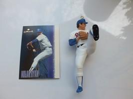 Vintage Hallmark 1996 Nolan Ryan, At the Ballpark Holiday Christmas Ornament 1st - $15.00