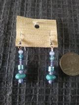 Handmade beaded dangle earrings  - $6.00