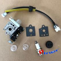 CARBURETOR & Fuel line F Zama RB-K85 Echo PB-251 PB-265L PB-265LN Power ... - $12.09