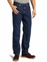Levi's Strauss 550 Men's Relaxed Fit Straight Leg Jeans Dark Stonewash 550-4886