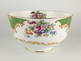 Royal Albert Albany Green Open Sugar Bowl - $40.00