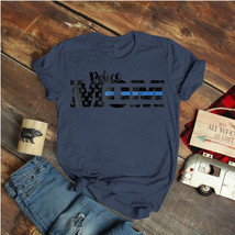 Police Mom For Law Enforcement Mothers Ideas Birthday Gift Vintage Funny  - $15.99+