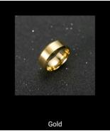Ring Men Titanium Black High Quality - $5.58