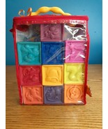 B. toys One Two Squeeze Baby Blocks - Building Blocks for Toddlers 10 ct - $16.78