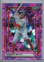 MOOKIE BETTS 2019 Panini National Convention VIP Party Purple #38/99 E4518 - $3.56