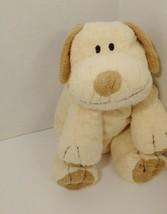 Ty tylux Pluffies Plopper puppy dog plush 2002 cream tan brown - $14.84