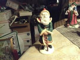 "20#36   Vintage Far East?  Santa Claus 5 1/2"" tall Christmas Stand Up De... - $6.92"