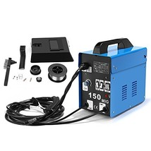 SUNGOLDPOWER MIG 150A Welder Flux Core Wire Automatic Feed Welding AC We... - $178.71